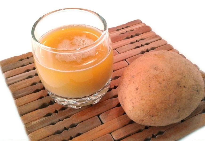 Чистка золотой цепочки картофельным соком