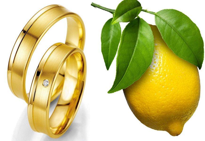 Применение лимонного золота. Ассортимент украшений и аксессуаров