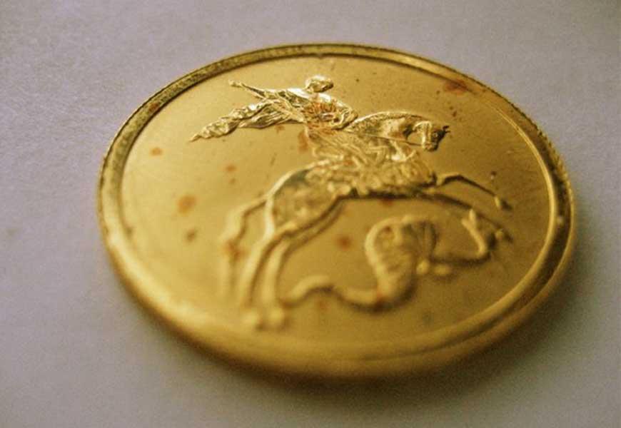 Может ли золото ржаветь или менять цвет 08