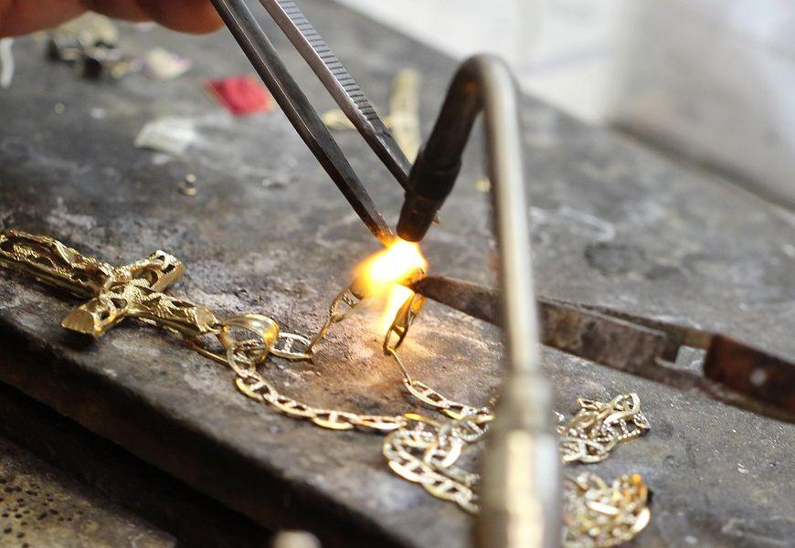 Ювелирная мастерскаяЮвелирной мастерскойПайка золота