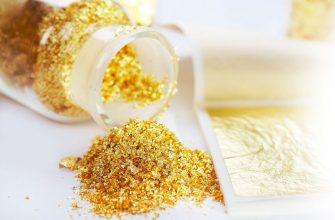 Пищевое золото в кулинарии