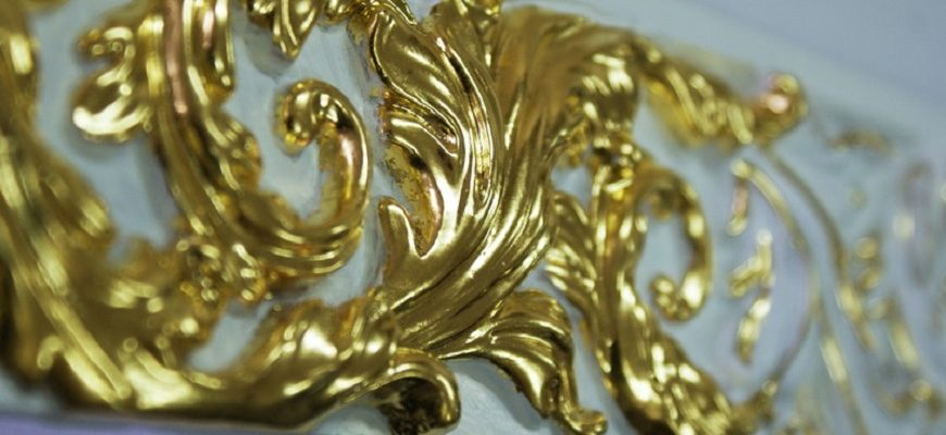 Поталь сусальное золото