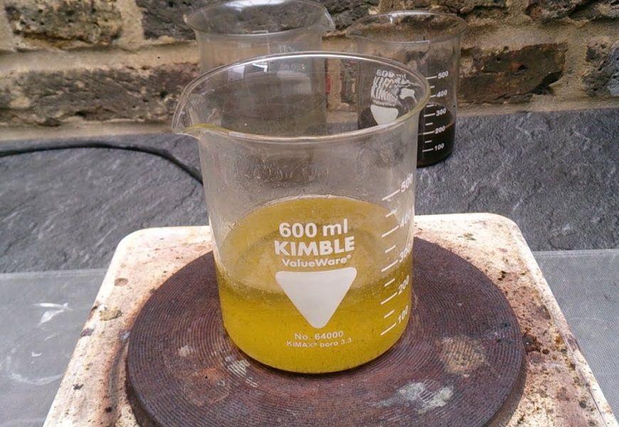 Химический: аффинаж с применением царской водк