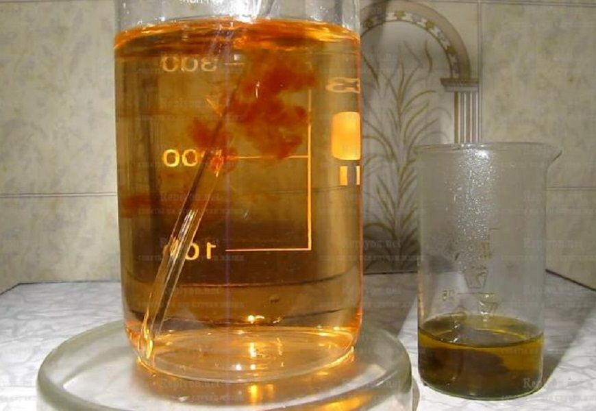 Состав царской водки для растворения золота