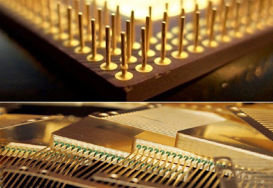 Содержание золота в процессорах