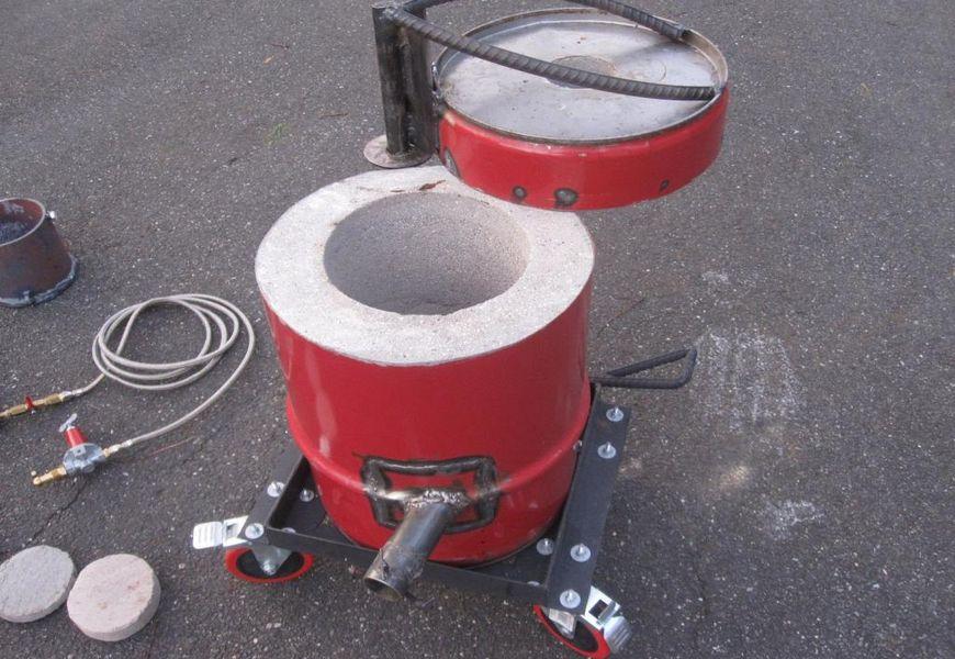 Оборудование и материалы для домашней плавки металла