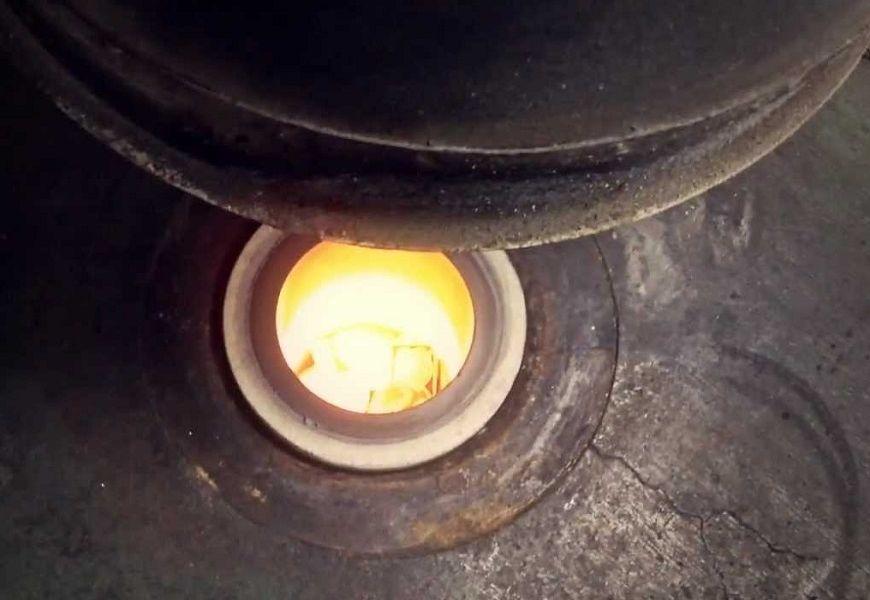 Максимальная температура плавки золота