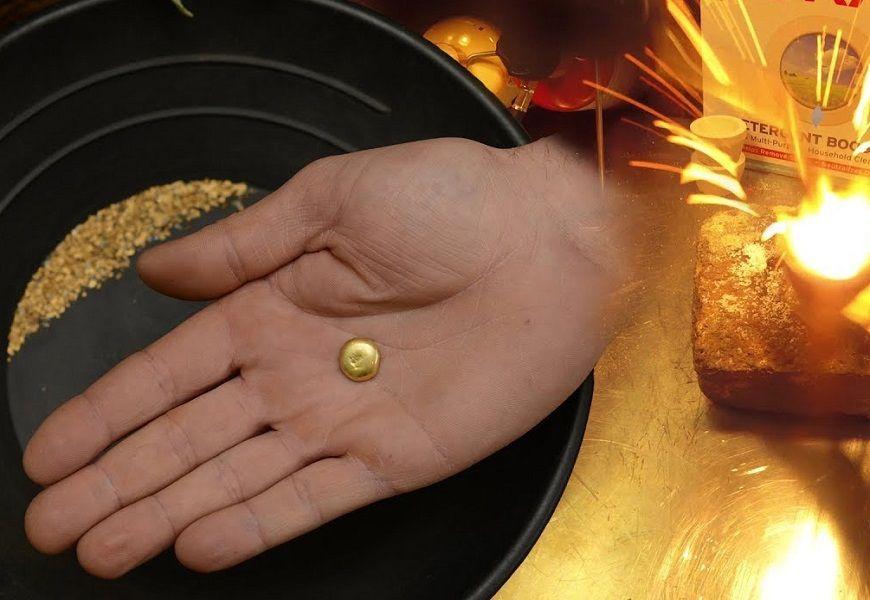 Температура плавления золота в домашних условиях