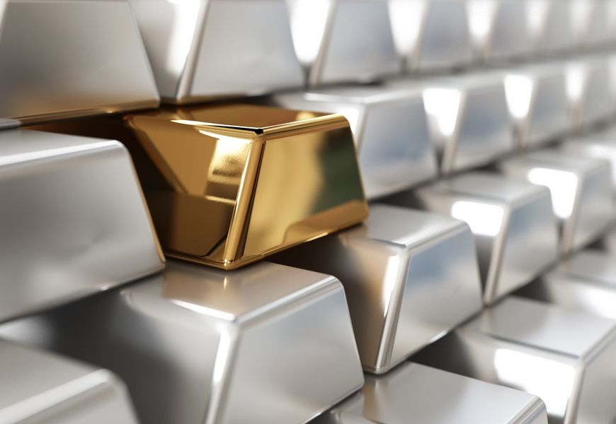 Унции серебра или золота