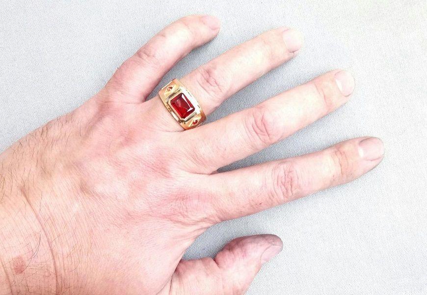 Мужской перстень