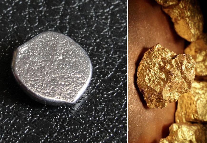 Получение изотопа золота из изотопа ртути.
