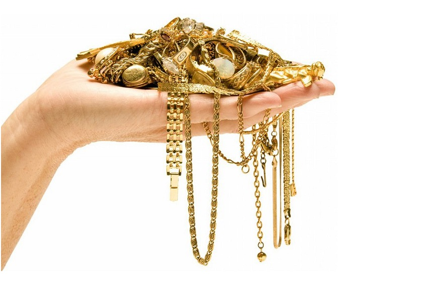 Техника чистки золотых украшений