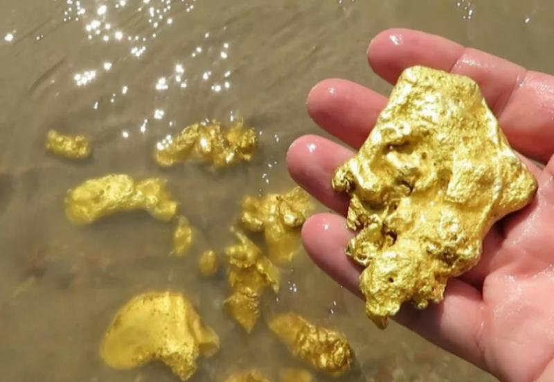 Виды месторождений золота в природе