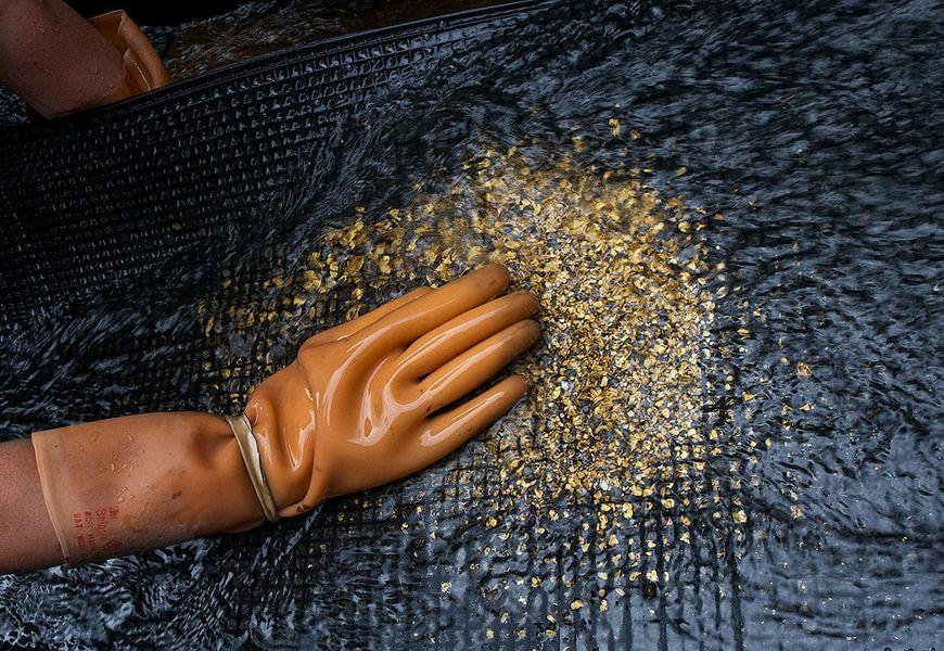 Геологический анализ месторождения золота