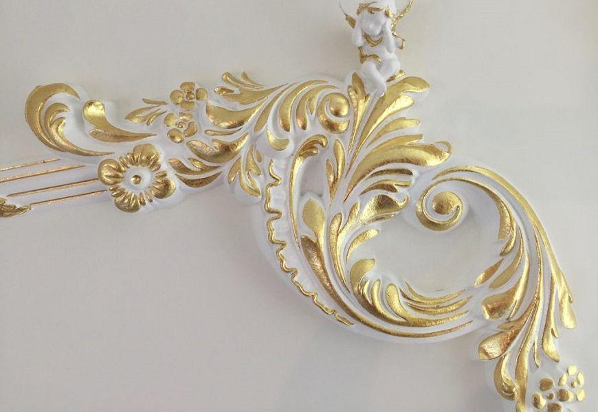 Декоративная Роспись Золотом