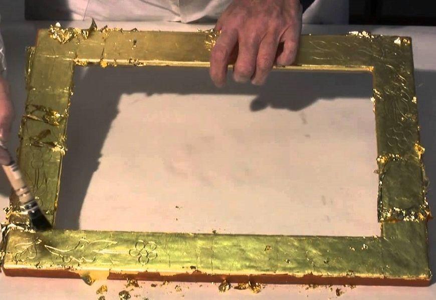 Качество и техника нанесения золота