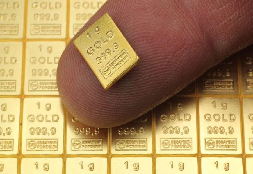 Стоимость 1 грамма золота