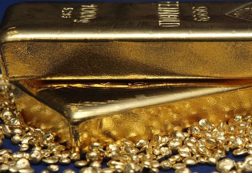 Швейцарские слитки золота