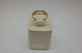 Золотое кольцо 500 пробы