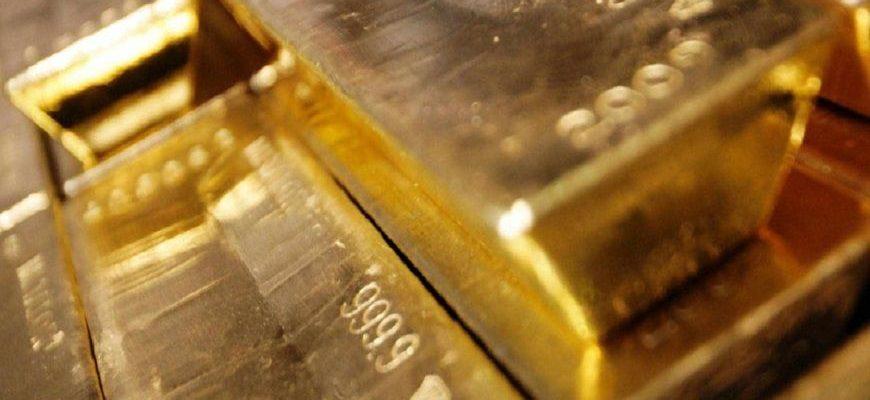 Золотые слитки высшей пробы