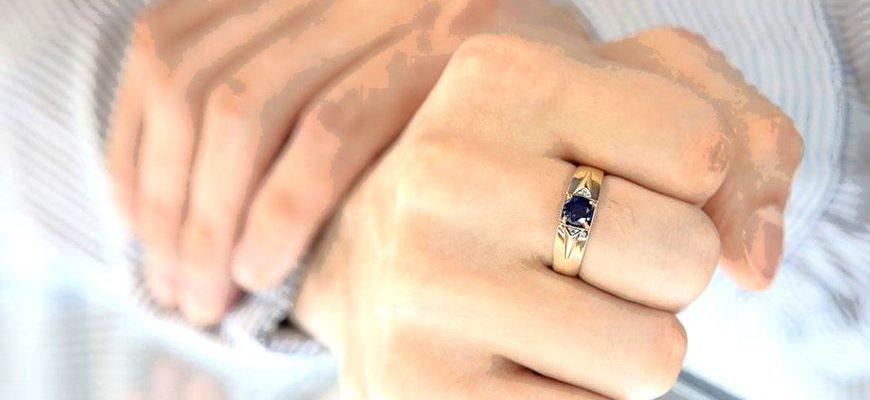 Чернеет палец от золотого кольца