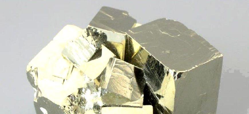 Коллекционный камень пирит