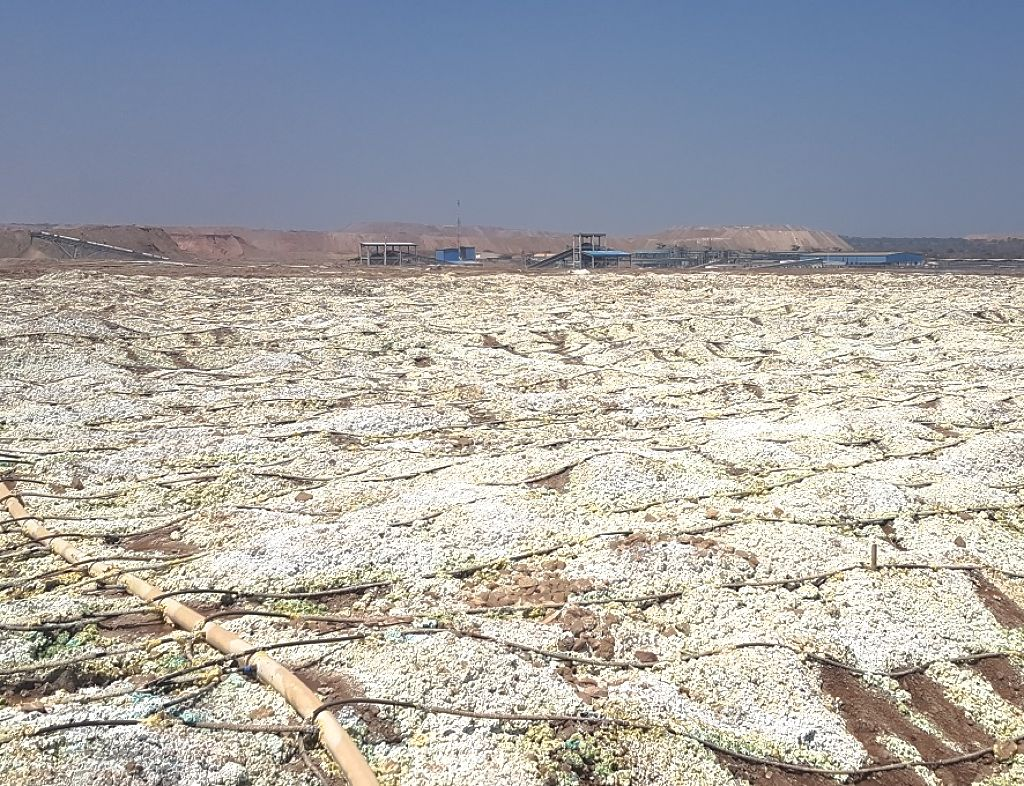 Рекультивация площадки и поврежденной почвы