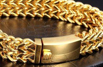 Браслет из медицинского золота
