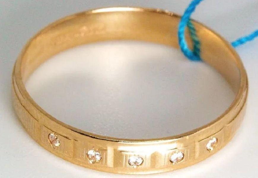 золотое кольцо 555