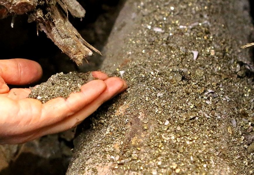 Этапы шлихового метода добычи золота