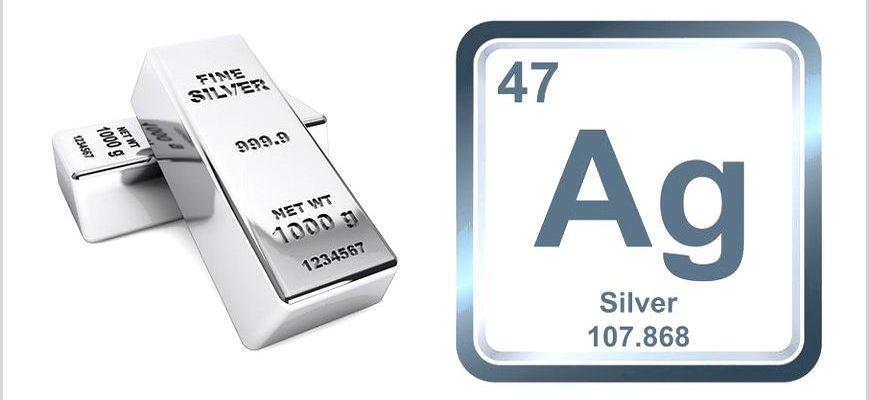 Серебро как химический элемент таблицы Менделеева (Ag)