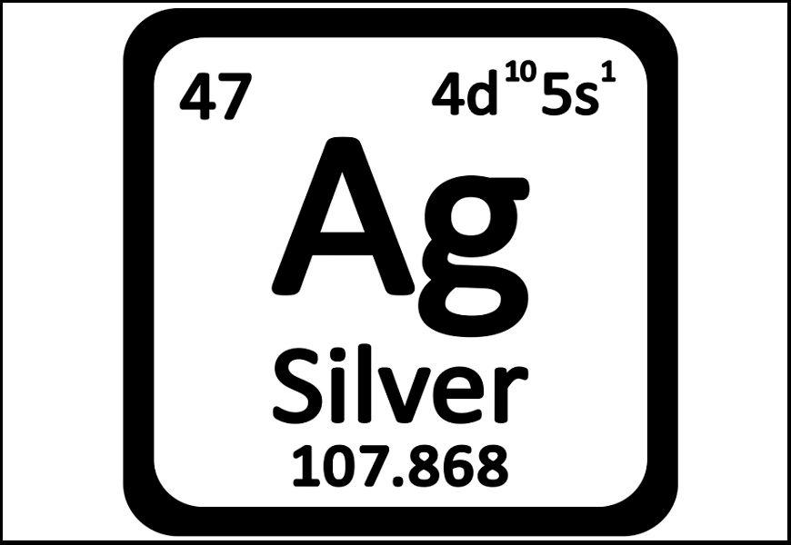 Как обозначается серебро в таблице Менделеева?
