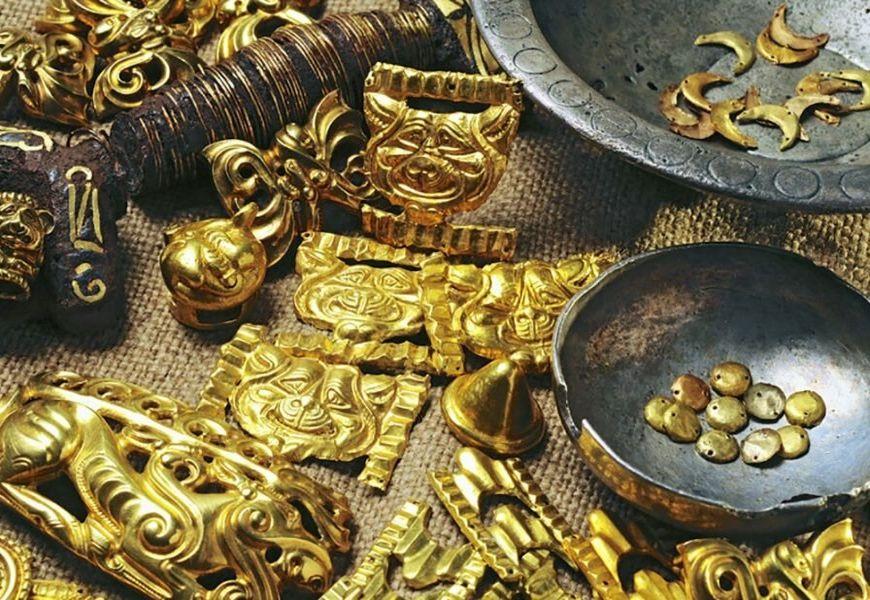 Золото в истории человечества