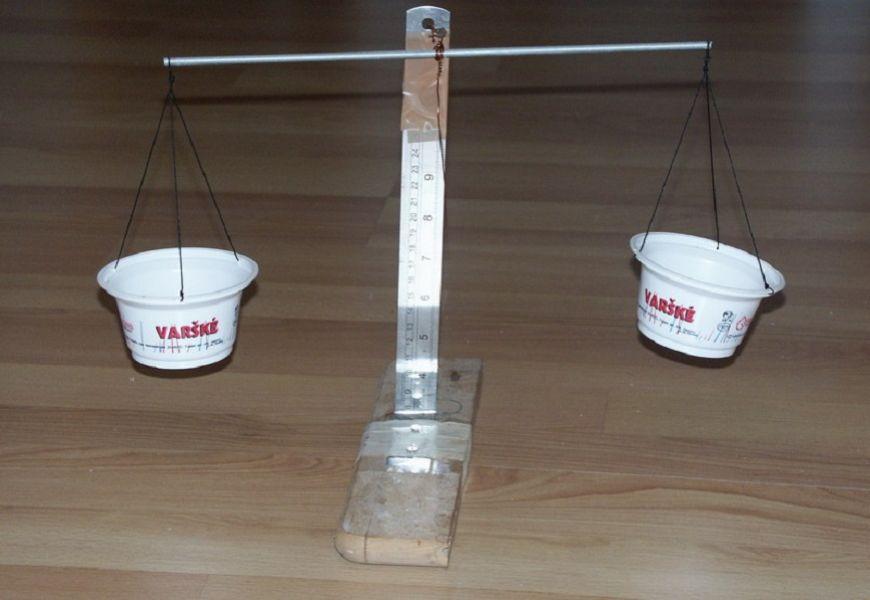 Самодельные рычажные весы