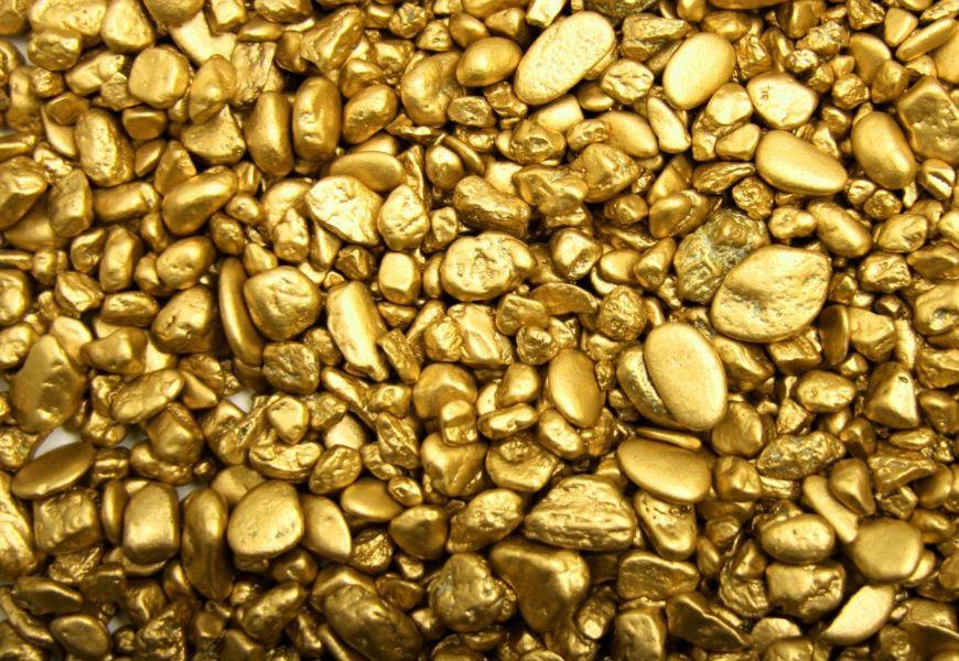 Разнообразие составов и цветов золота