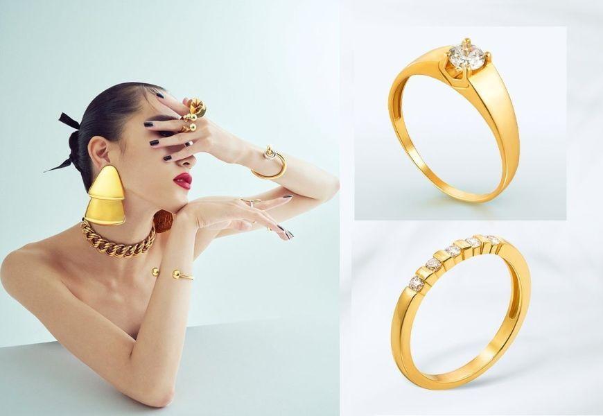 Желтое золото – классический символ власти и богатства