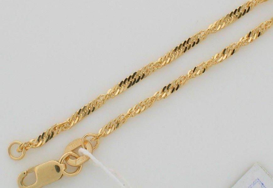 Стоимость 1 грамма золота 750