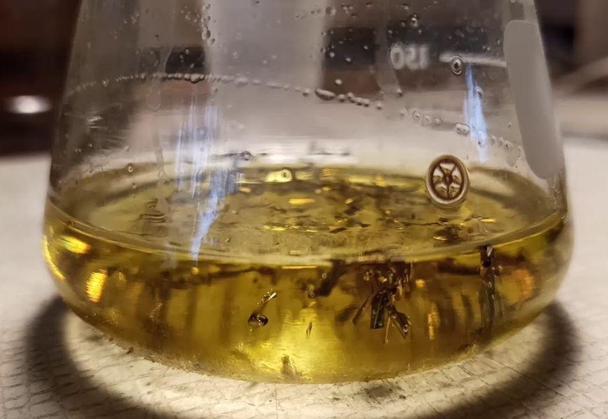 Золото в царской водке