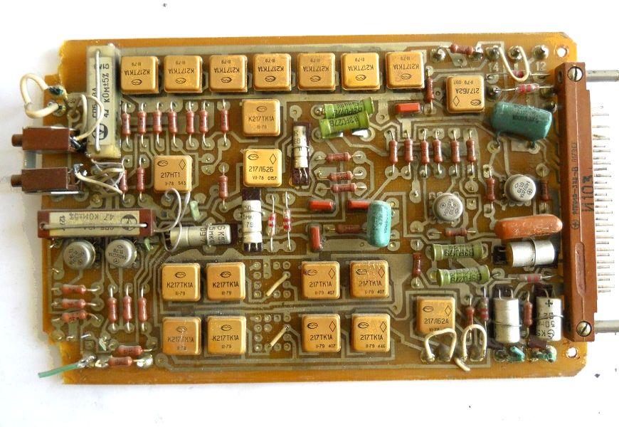 Золото в советских радиодеталях