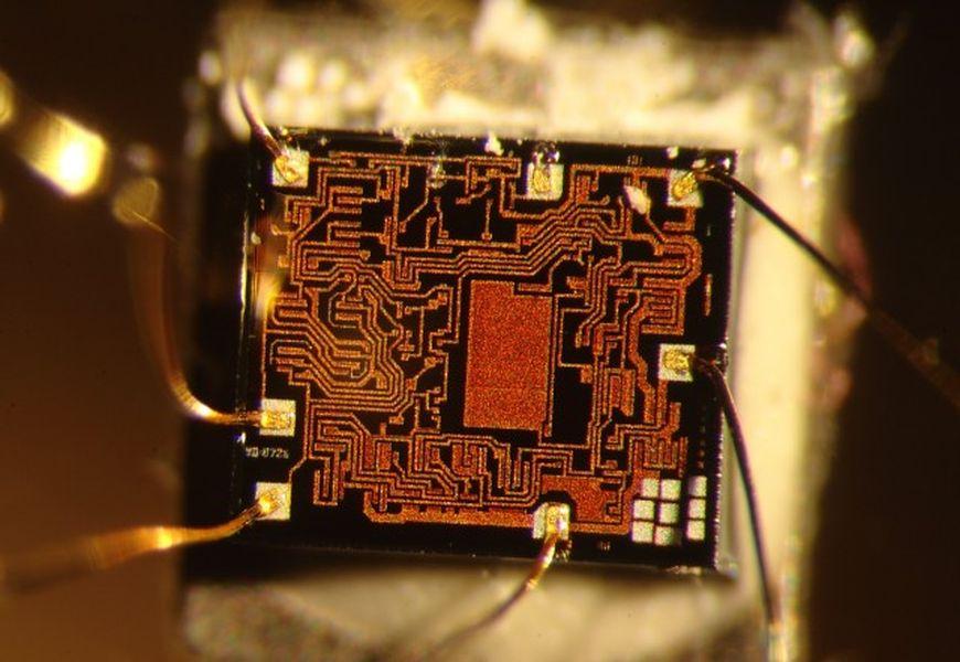 Покрытие контактов в электронике красным золотом