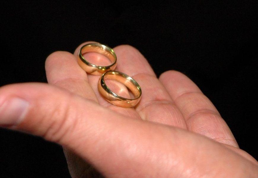 Золотые кольца 958 пробы
