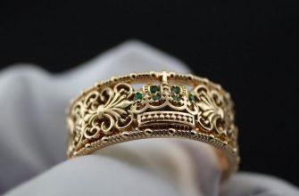 Золотое кольцо 958 пробы