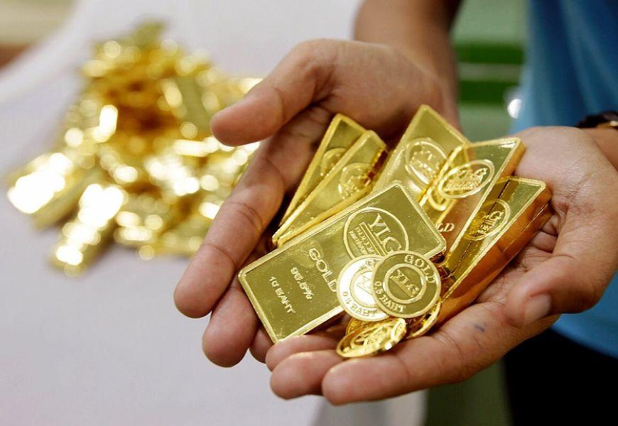 Накопления золота