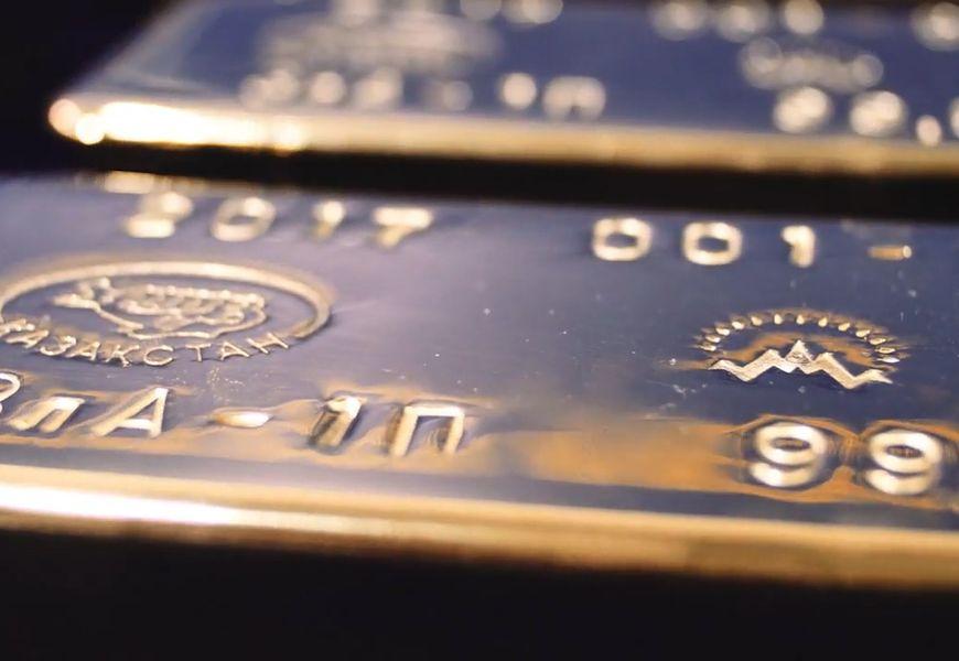 Сплав золотого осадка в слиток золота