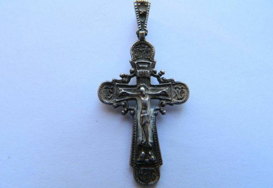 Почерневший крестик