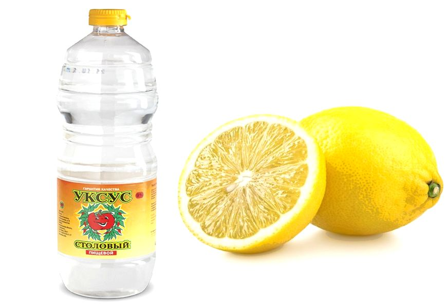 Уксус/лимон