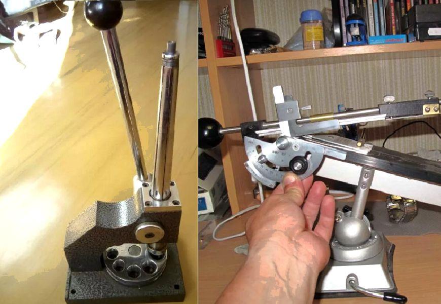 Растяжка кольца с помощью инструмента Буратино