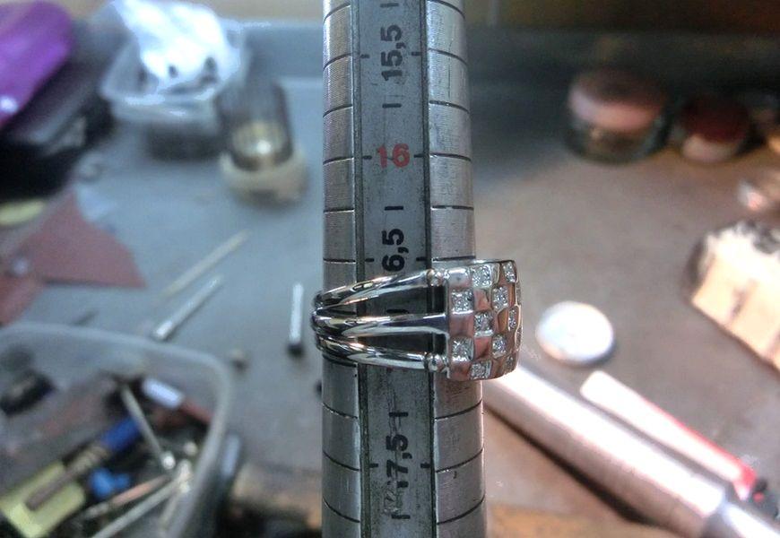 Как увеличивают диаметр кольца ювелирные мастера