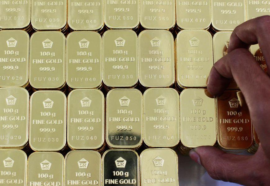 Хранение золота (слитков) в банке
