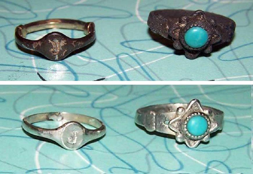 Способ чистки для серебра с камнями